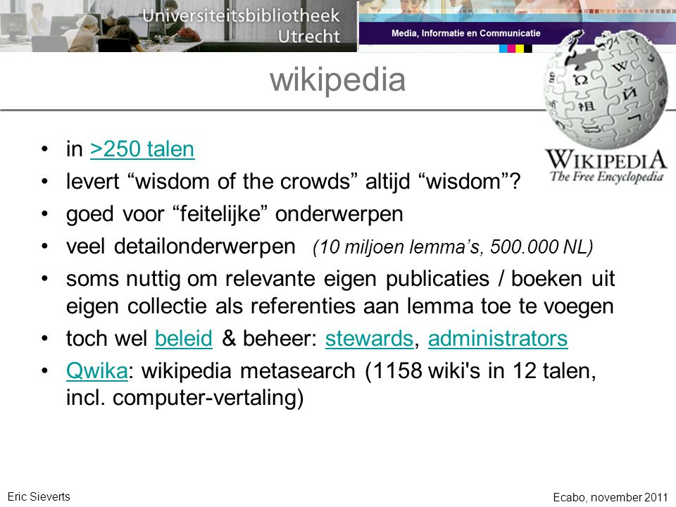 wikipedia in >250 talen