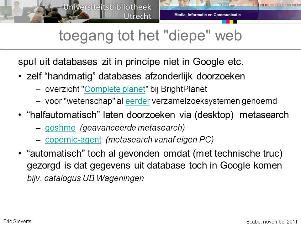 toegang tot het diepe web