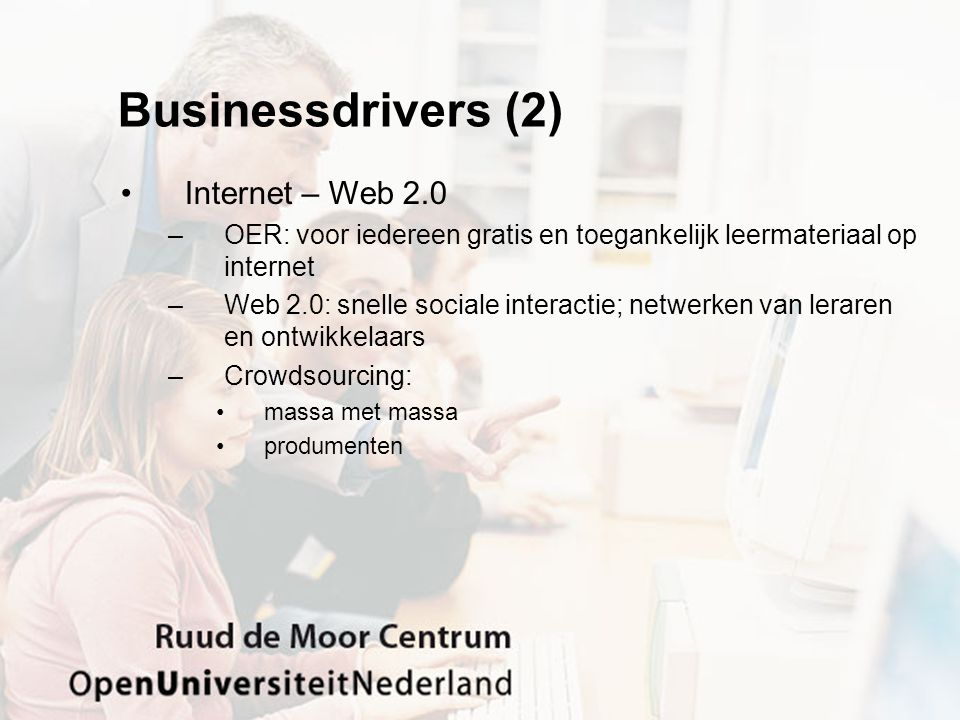 Businessdrivers (2) Internet – Web 2.0