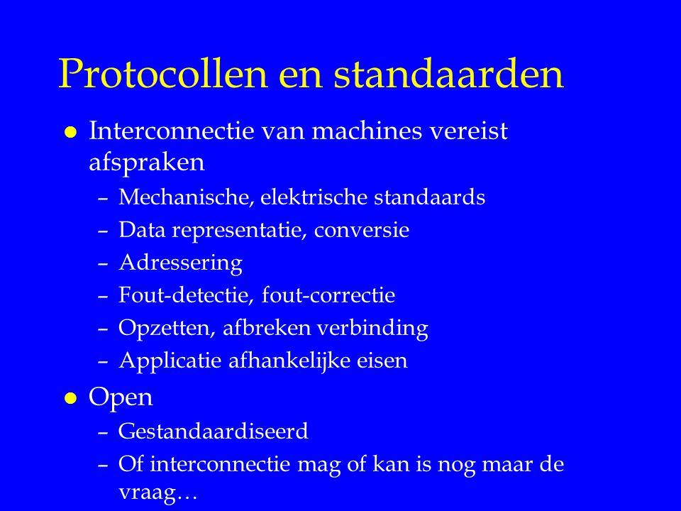 Protocollen en standaarden