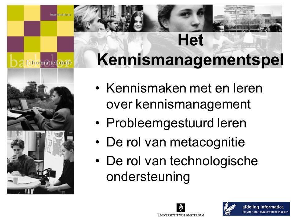 Het Kennismanagementspel