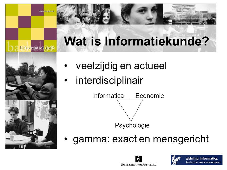 Wat is Informatiekunde