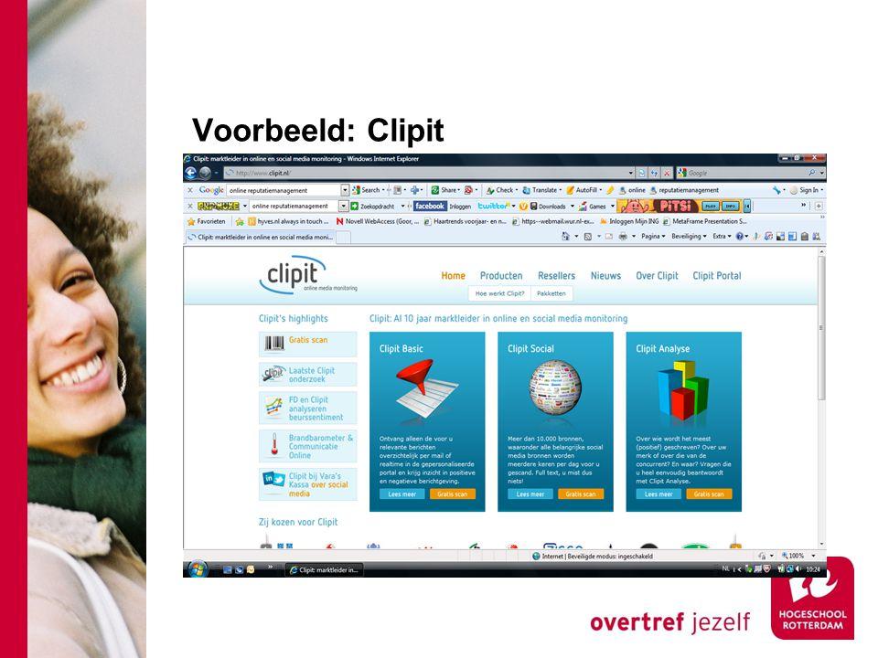Voorbeeld: Clipit