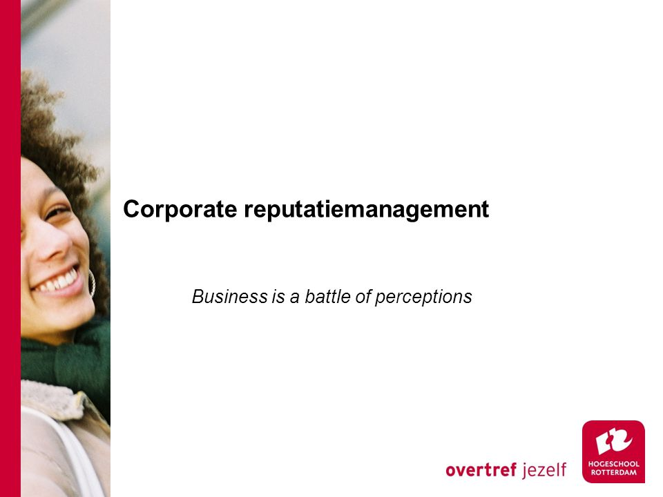Corporate reputatiemanagement
