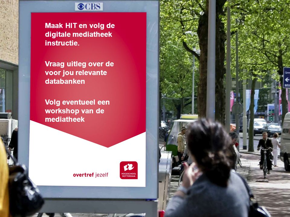Maak HIT en volg de digitale mediatheek instructie.
