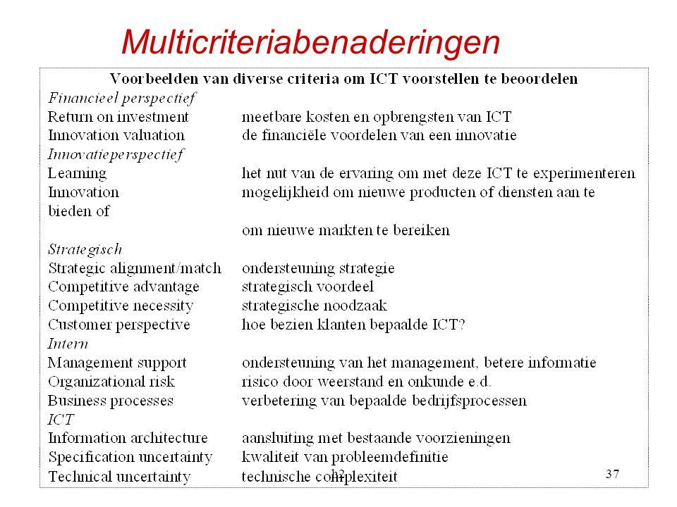 Multicriteriabenaderingen