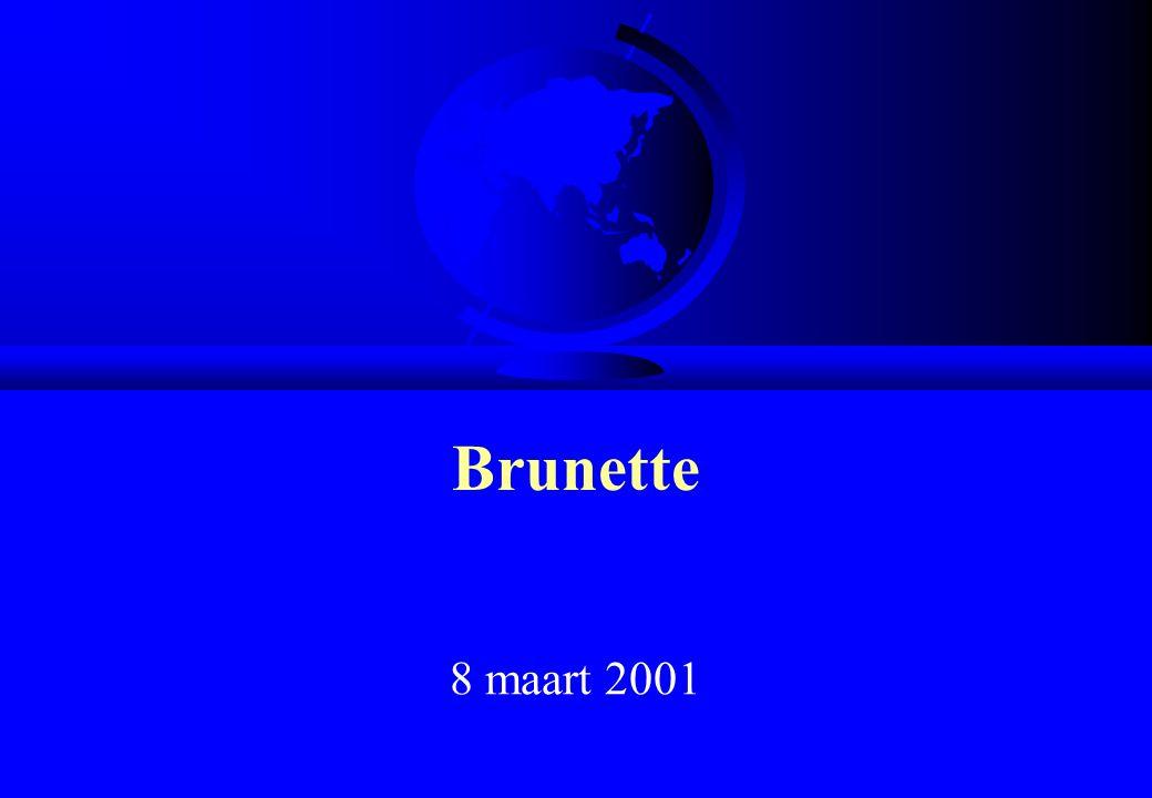 Brunette 8 maart 2001