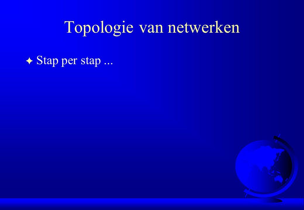 Topologie van netwerken