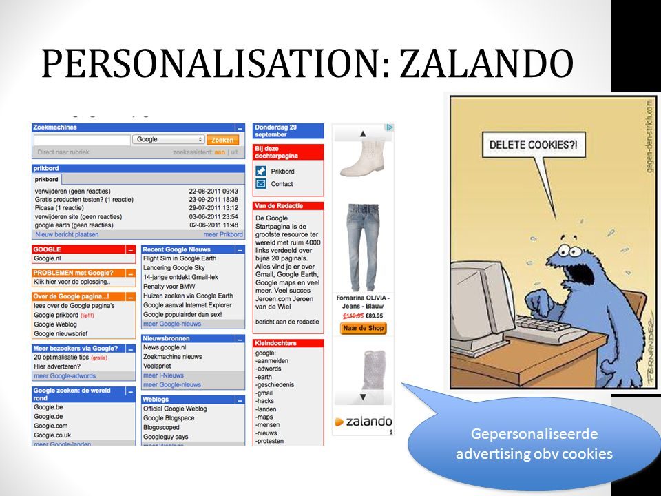PERSONALISATION: ZALANDO