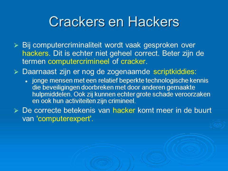 Crackers en Hackers