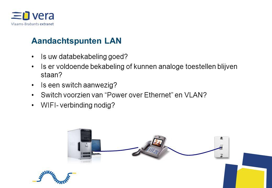 Aandachtspunten LAN Is uw databekabeling goed