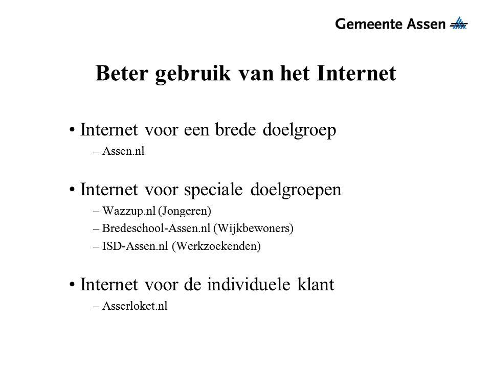 Beter gebruik van het Internet