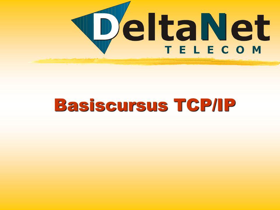 Basiscursus TCP/IP