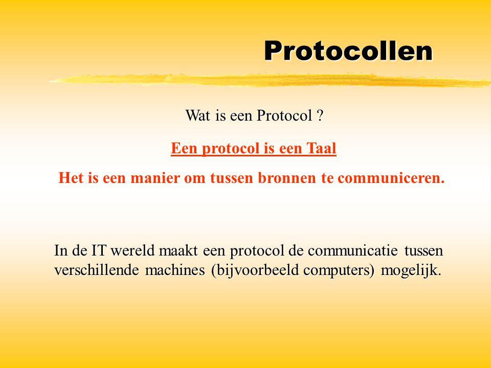 Een protocol is een Taal