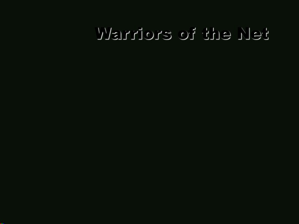 Warriors of the Net