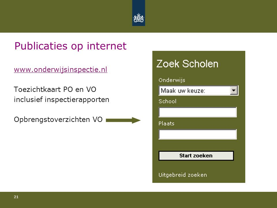 Publicaties op internet