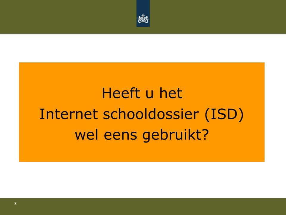 Internet schooldossier (ISD)