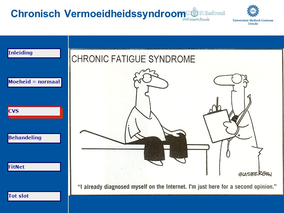 Chronisch Vermoeidheidssyndroom