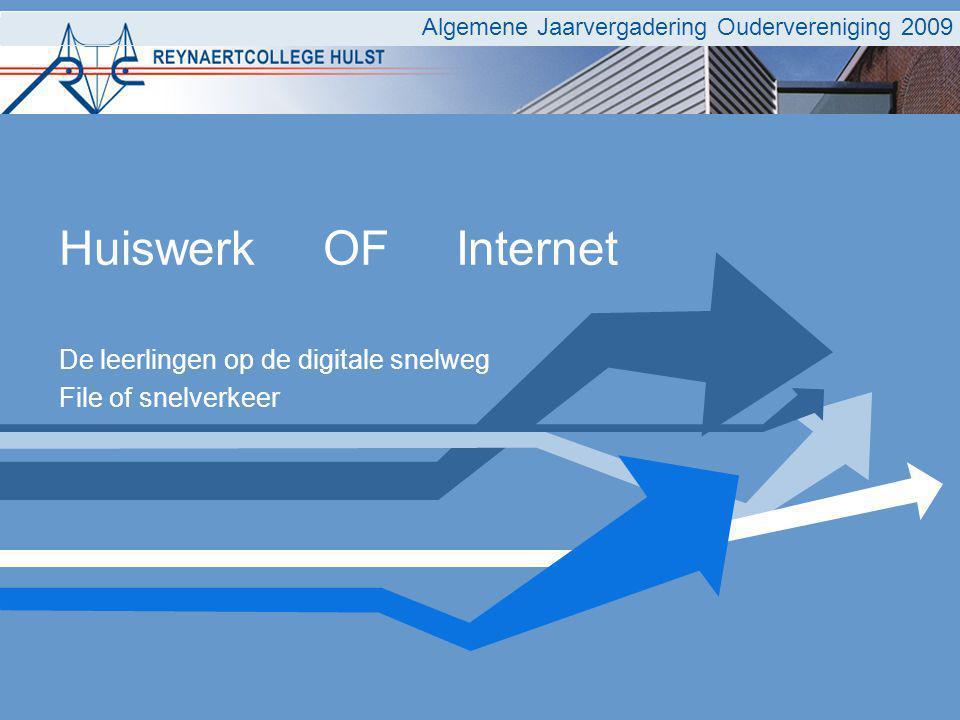 De leerlingen op de digitale snelweg File of snelverkeer