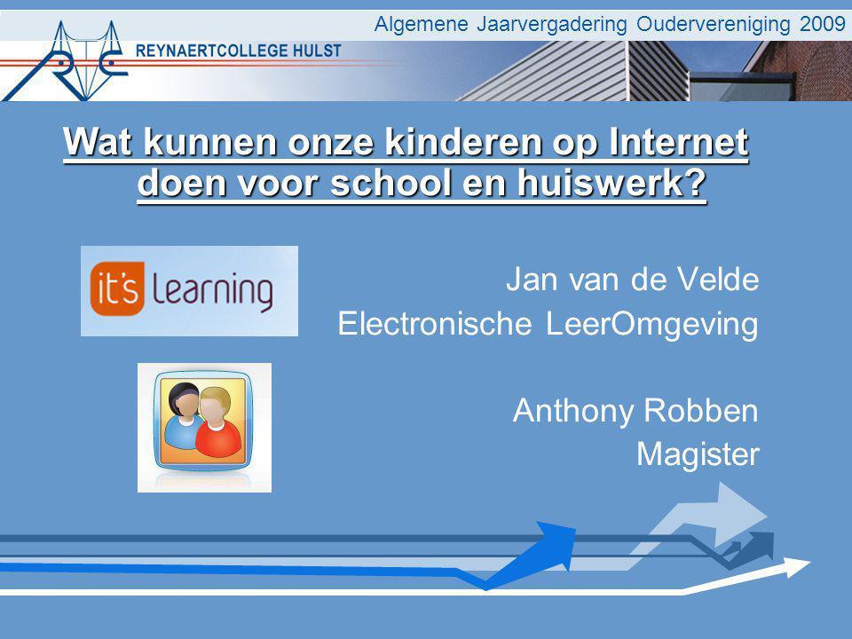 Wat kunnen onze kinderen op Internet doen voor school en huiswerk