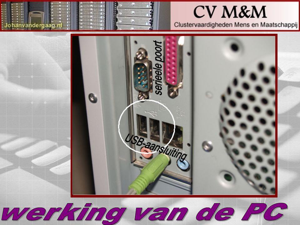 serieele poort USB-aansluiting werking van de PC