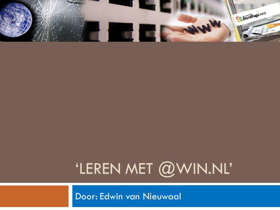 Door: Edwin van Nieuwaal