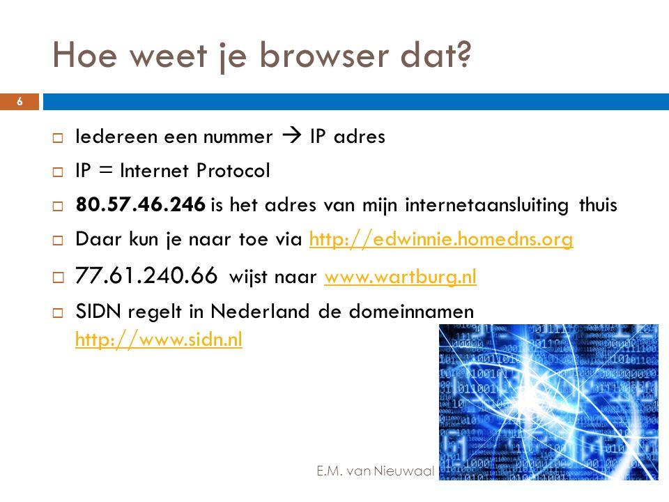 Hoe weet je browser dat 77.61.240.66 wijst naar www.wartburg.nl