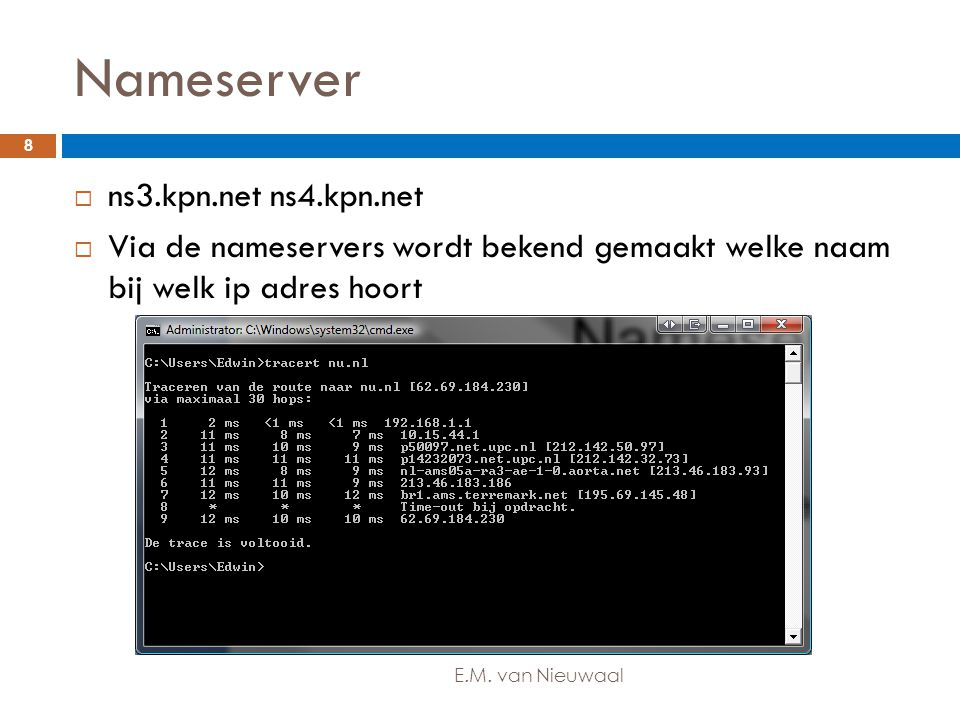 Nameserver ns3.kpn.net ns4.kpn.net