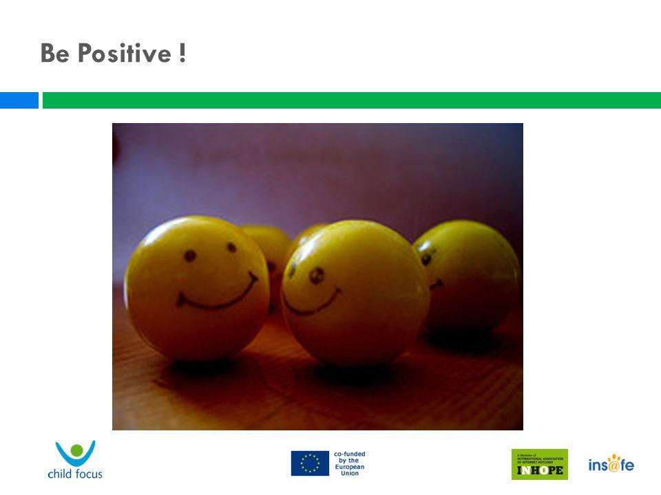 Be Positive ! Wantrouwen bij jongeren