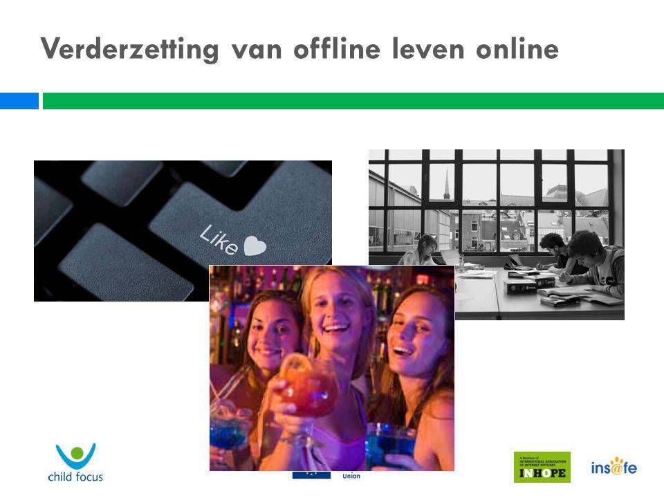 Verderzetting van offline leven online