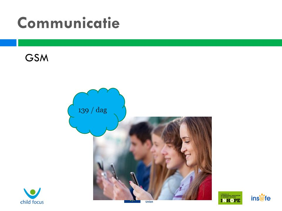Communicatie GSM 139 / dag