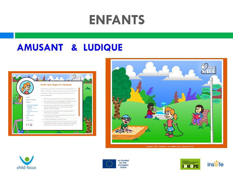 ENFANTS AMUSANT & LUDIQUE Nel Vision générale pour les enfants.