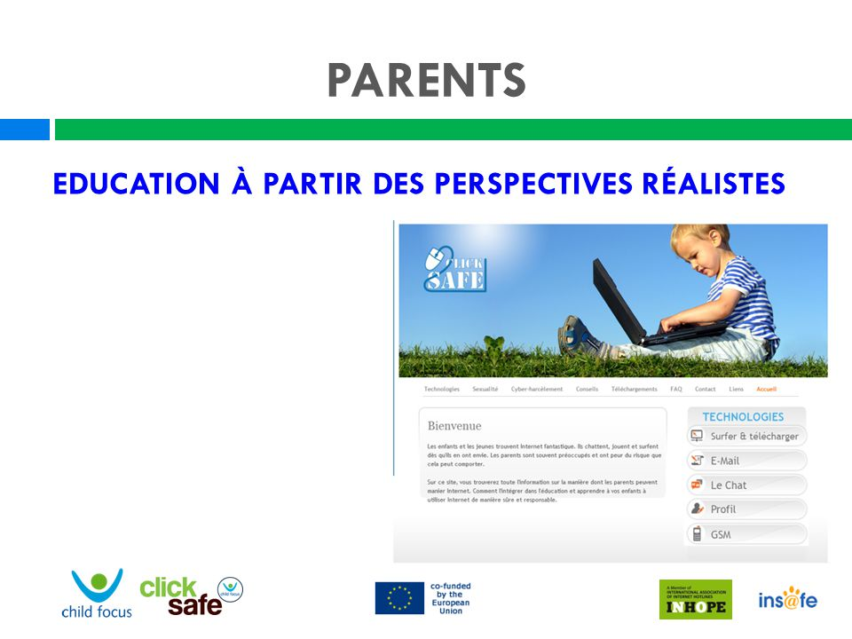PARENTS Education à partir des perspectives réalistes Nadège
