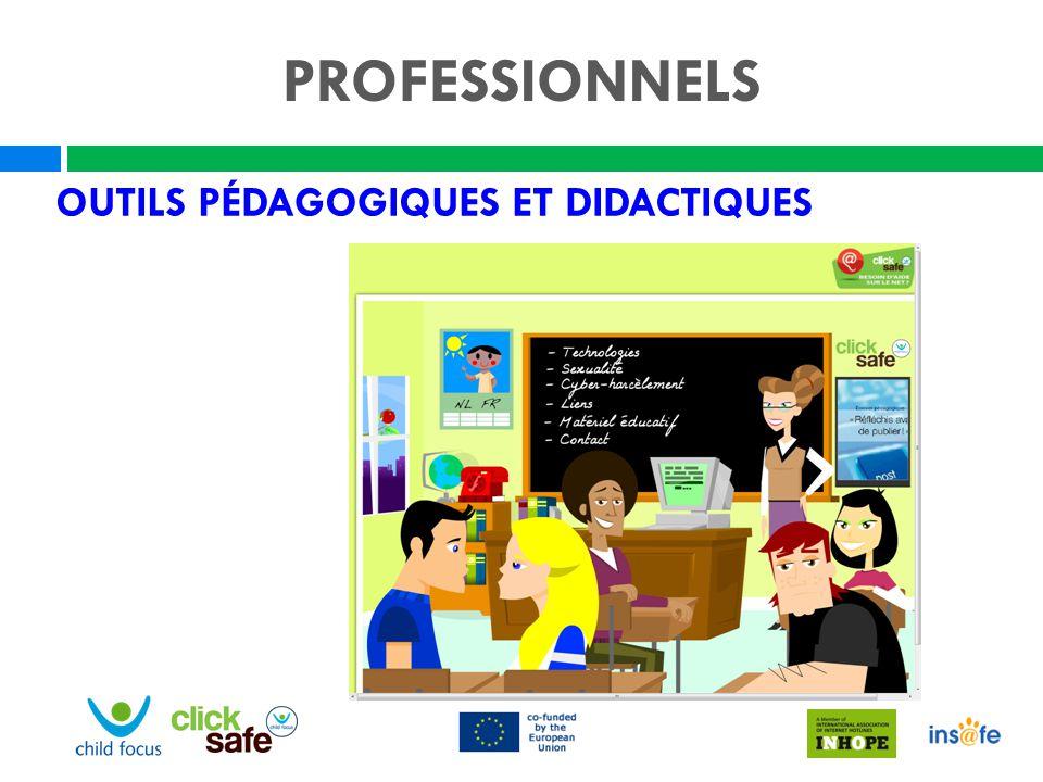 PROFESSIONNELS Outils pédagogiques et didactiques Nel Visiteurs: 9555