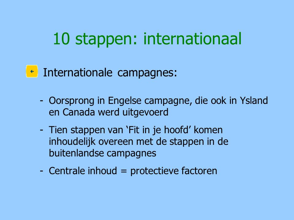 10 stappen: internationaal
