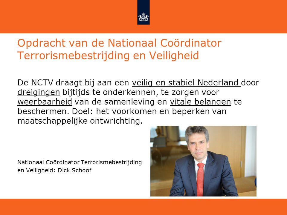 Opdracht van de Nationaal Coördinator Terrorismebestrijding en Veiligheid