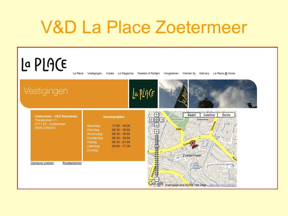 V&D La Place Zoetermeer