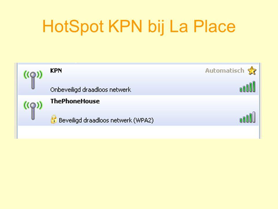 HotSpot KPN bij La Place