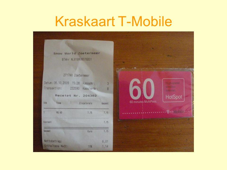 Kraskaart T-Mobile
