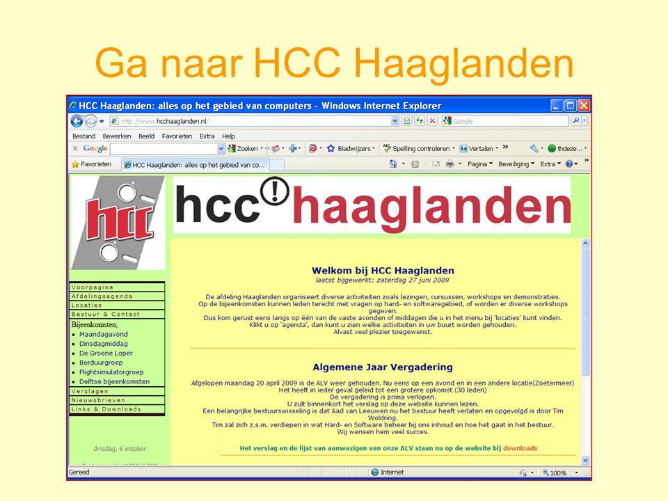 Ga naar HCC Haaglanden