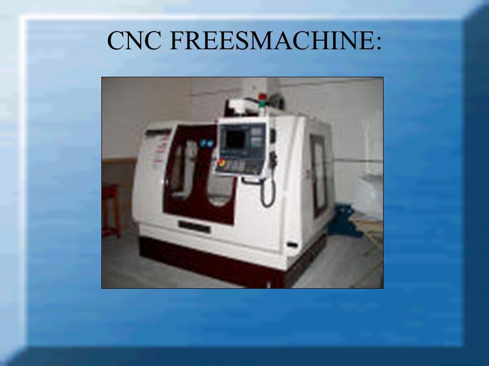 CNC FREESMACHINE: