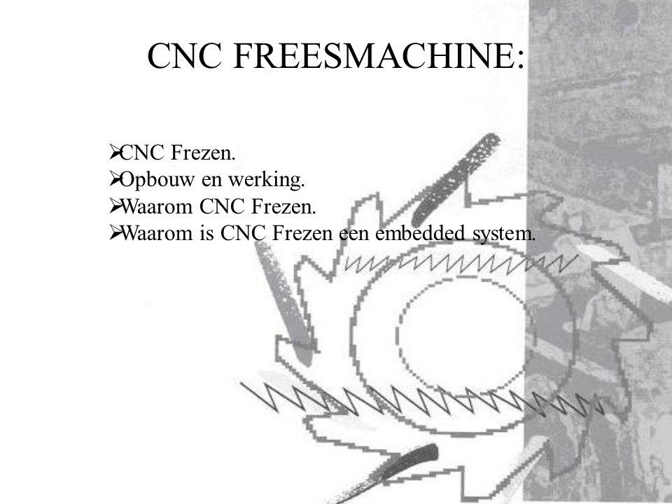 CNC FREESMACHINE: CNC Frezen. Opbouw en werking. Waarom CNC Frezen.