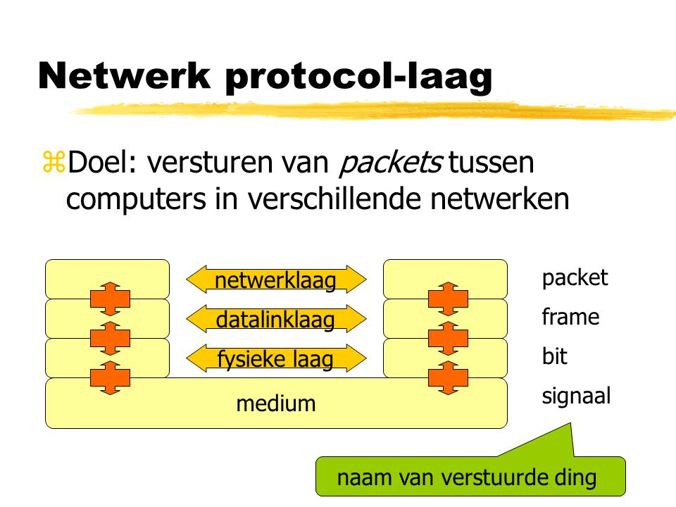 Netwerk protocol-laag