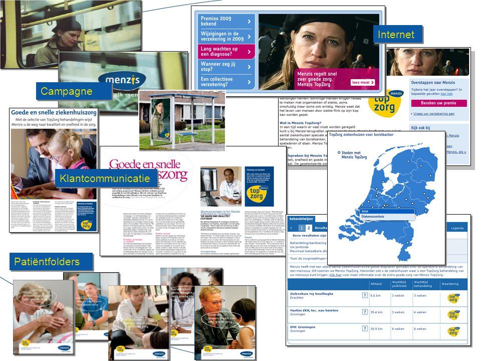 Internet Campagne Klantcommunicatie Patiëntfolders