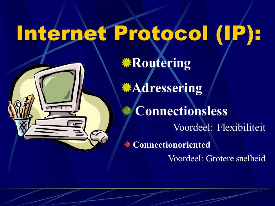 Internet Protocol (IP):