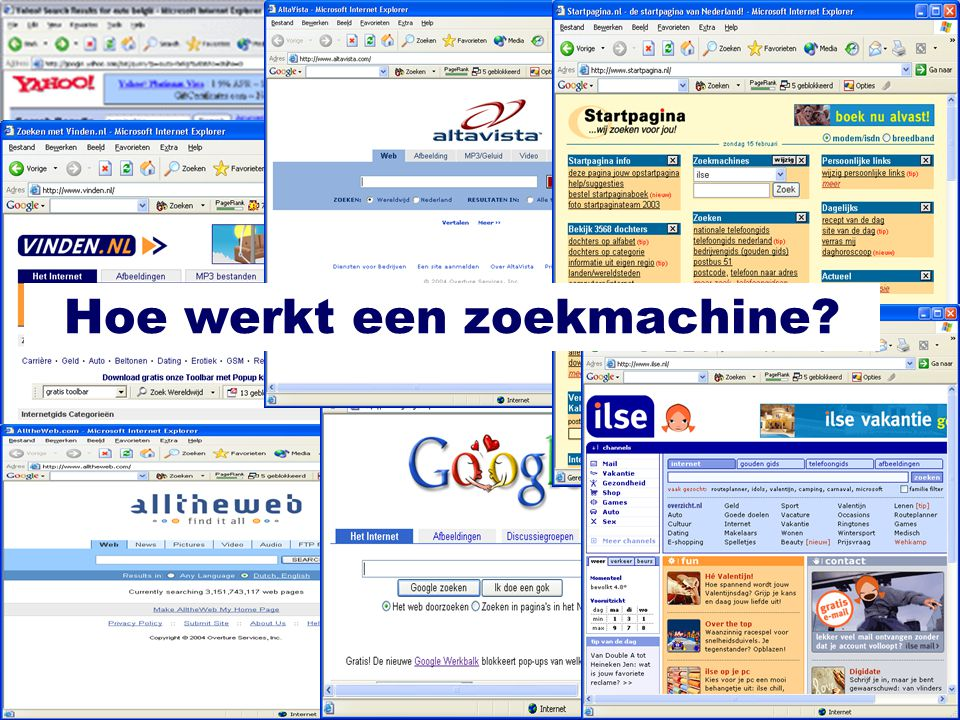 Hoe werkt een zoekmachine