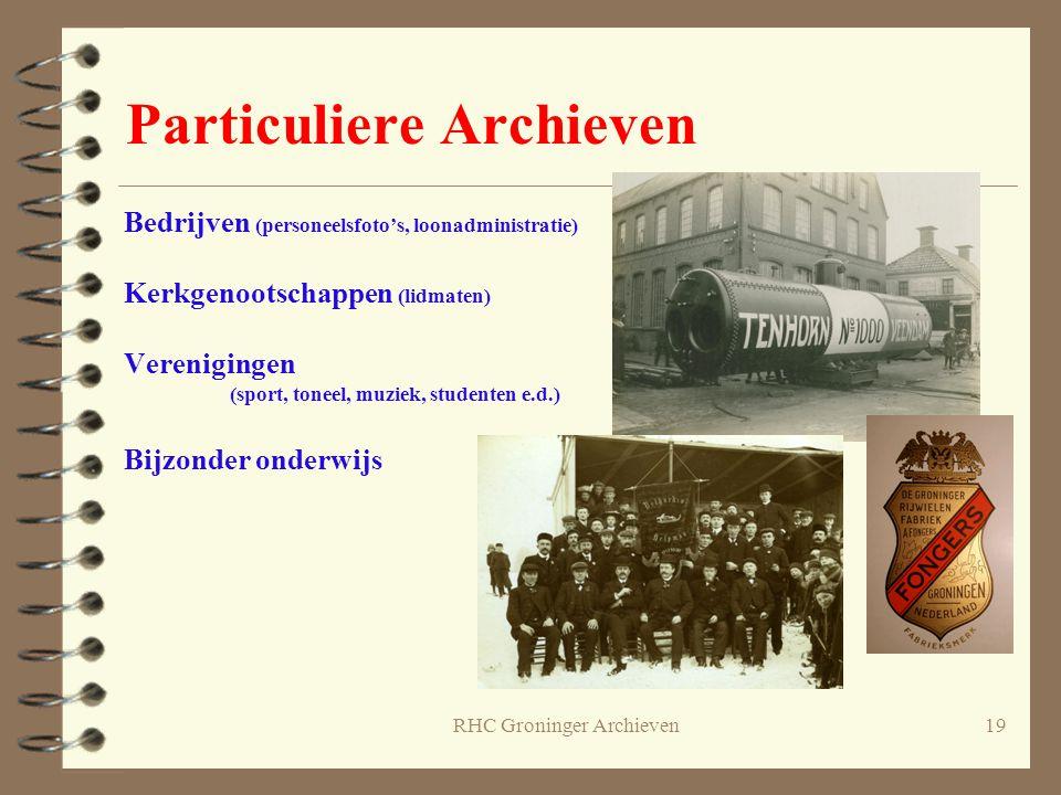 Particuliere Archieven