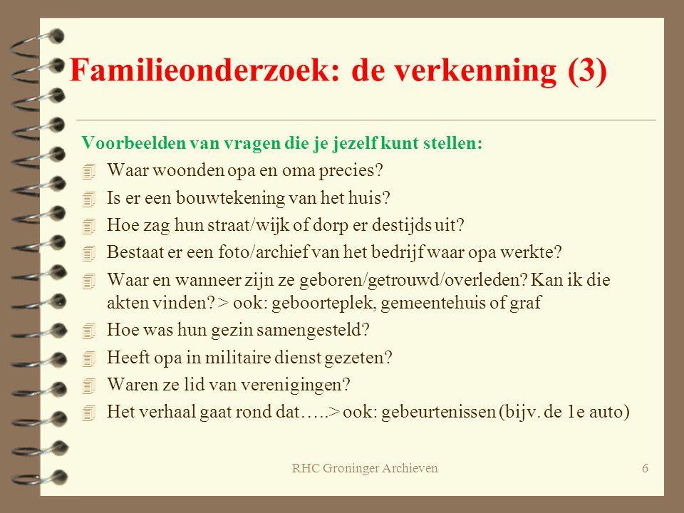 RHC Groninger Archieven