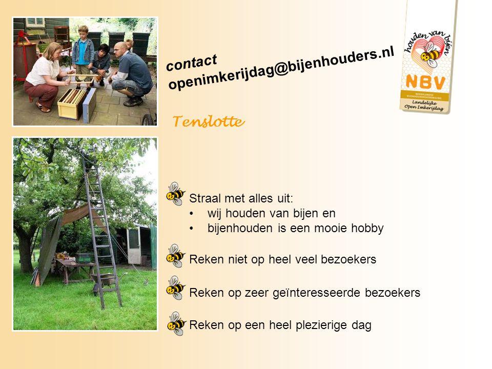 contact openimkerijdag@bijenhouders.nl