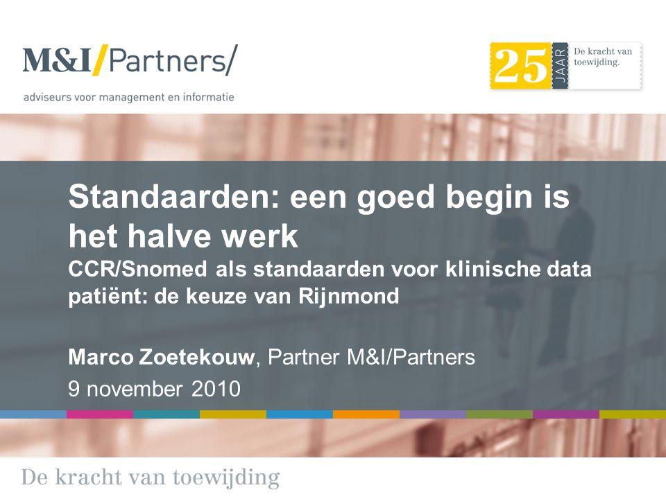 Marco Zoetekouw, Partner M&I/Partners 9 november 2010